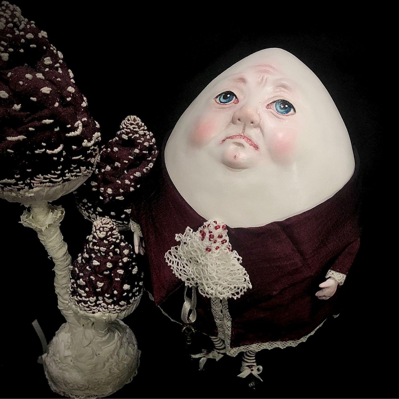 Шалтай-Болтай. Коллекционная интерьерная кукла. Статичная, Куклы и пупсы, Москва,  Фото №1