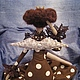 Куклы Тильды ручной работы. Принцесса  Шоколадное Наслаждение. Белоенко Наталья Борисовна BELONATA (belonata). Ярмарка Мастеров. Кукла интерьерная