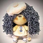 """Куклы и игрушки ручной работы. Ярмарка Мастеров - ручная работа Вязаная кукла """"Снегурочка"""". Handmade."""