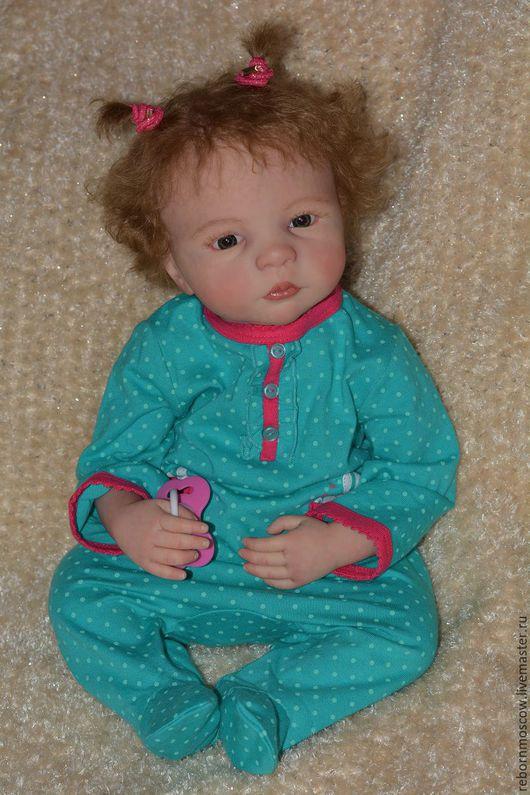 Куклы-младенцы и reborn ручной работы. Ярмарка Мастеров - ручная работа. Купить кукла реборн Леночка. Handmade. Бежевый