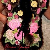 Одежда ручной работы. Ярмарка Мастеров - ручная работа вязанный жилет. Handmade.