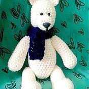 """Куклы и игрушки ручной работы. Ярмарка Мастеров - ручная работа Мишка """"Снежок"""". Handmade."""