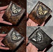 Сумки и аксессуары handmade. Livemaster - original item Purse . A purse with cat . Wallet . Steampunk. Handmade.