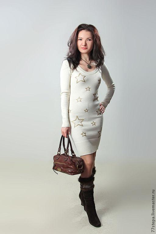 Платья ручной работы. Ярмарка Мастеров - ручная работа. Купить Платье вязаное 4497. Handmade. Платье, платье коктейльное