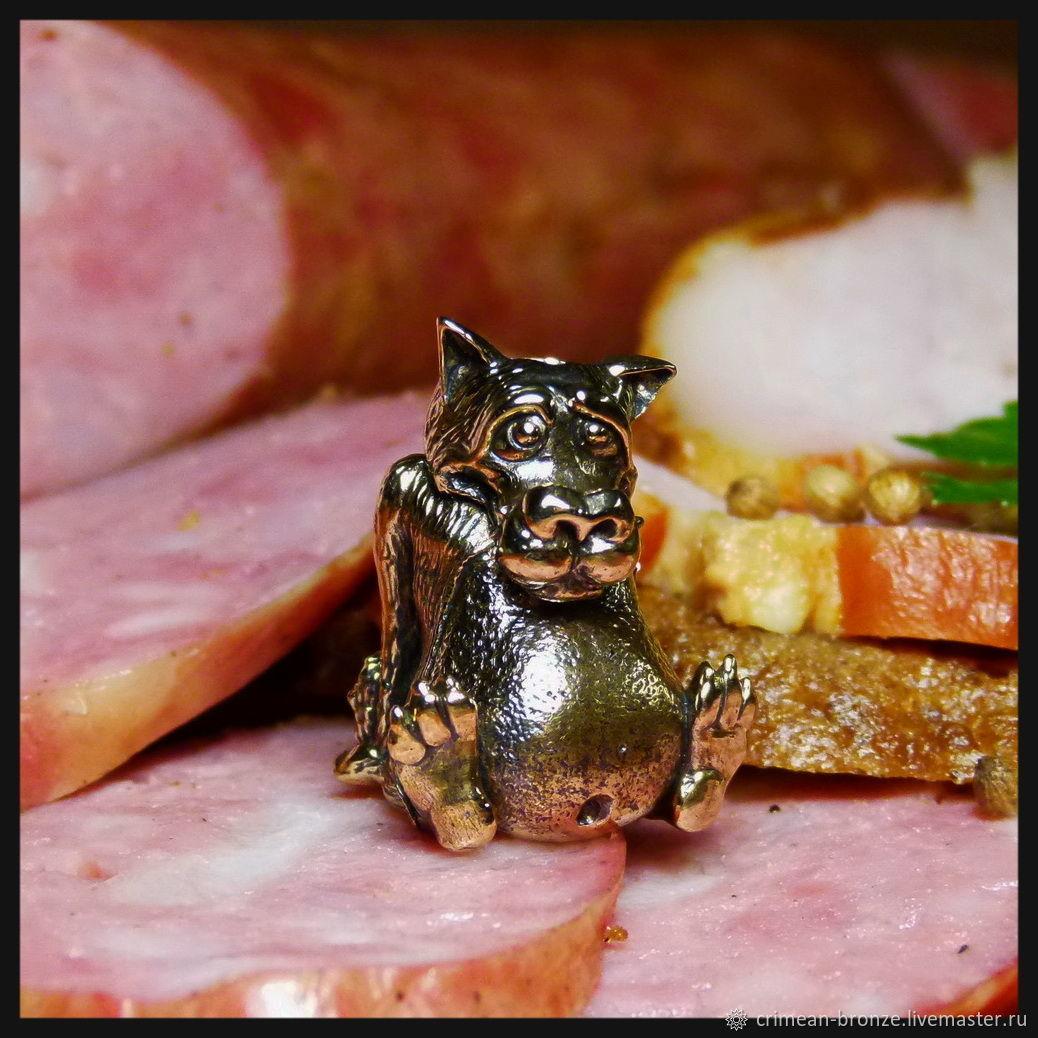 """Бусина """"Щас спою ..."""" для темляков или браслетов бронза, Подарки, Симферополь, Фото №1"""