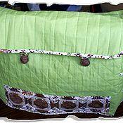 Для дома и интерьера ручной работы. Ярмарка Мастеров - ручная работа Чехол для швейной машины с элементами пэчворк. Handmade.