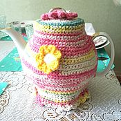 Для дома и интерьера handmade. Livemaster - original item Summer time - tea cosy. Handmade.