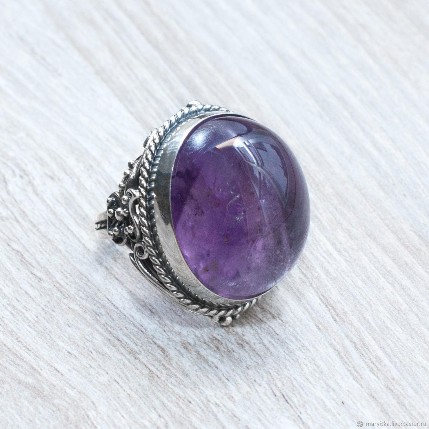 Amethyst (ring) (1041), Rings, Tambov,  Фото №1