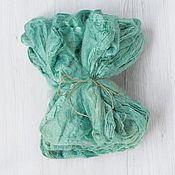 Материалы для творчества handmade. Livemaster - original item Silk handkerchiefs Frog 10 gr. Italian factory DHG. Handmade.