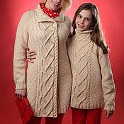 """Одежда ручной работы. Ярмарка Мастеров - ручная работа Кардиган """"Топленое молоко"""". Handmade."""