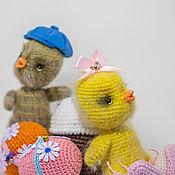 Stuffed Toys handmade. Livemaster - original item Soft toys: CHICKENS. Handmade.