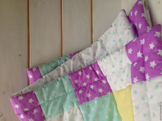 Пледы и одеяла ручной работы. Ярмарка Мастеров - ручная работа. Купить Одеяло для ребенка. Handmade. Комбинированный, одеяло детское
