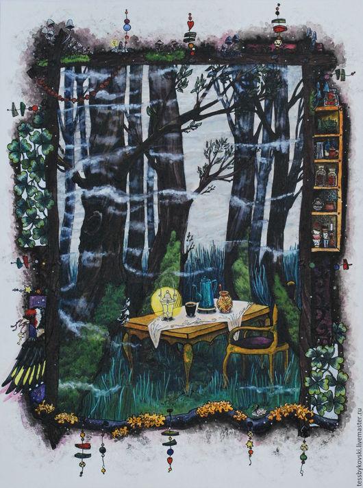 серия `The Secret Forest`  3/9 `Перед завтраком в тумане` Тася Быкова