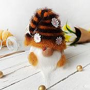Куклы и игрушки handmade. Livemaster - original item Gnome-bumblebee. Interior decor.. Handmade.