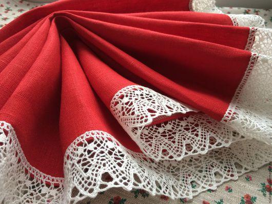 """Текстиль, ковры ручной работы. Ярмарка Мастеров - ручная работа. Купить Дорожка льняная """" Лед и пламень"""". Handmade."""