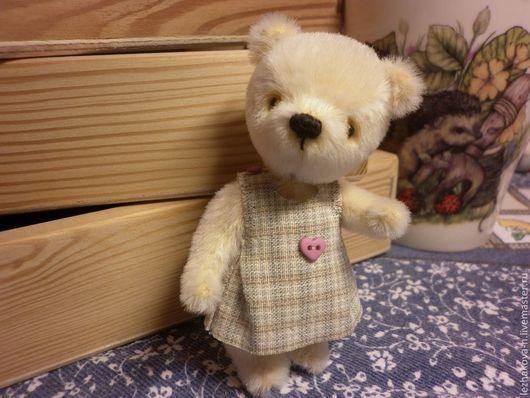 Мишки Тедди ручной работы. Ярмарка Мастеров - ручная работа. Купить Крис. Handmade. Бежевый, подарок на любой случай, шерсть