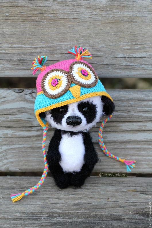 Игрушки животные, ручной работы. Ярмарка Мастеров - ручная работа. Купить Милый Панда. Handmade. Чёрно-белый, день рождения