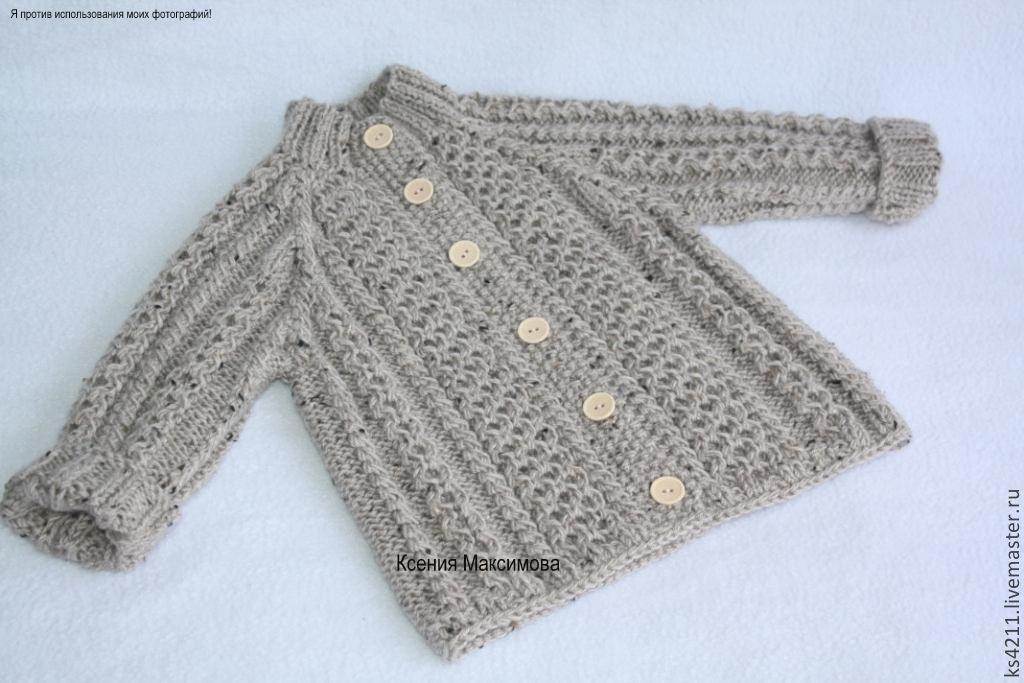 Unisex Clothing handmade. Livemaster - handmade. Buy jacket 'tweed is always in fashion' knitting ed. work.White