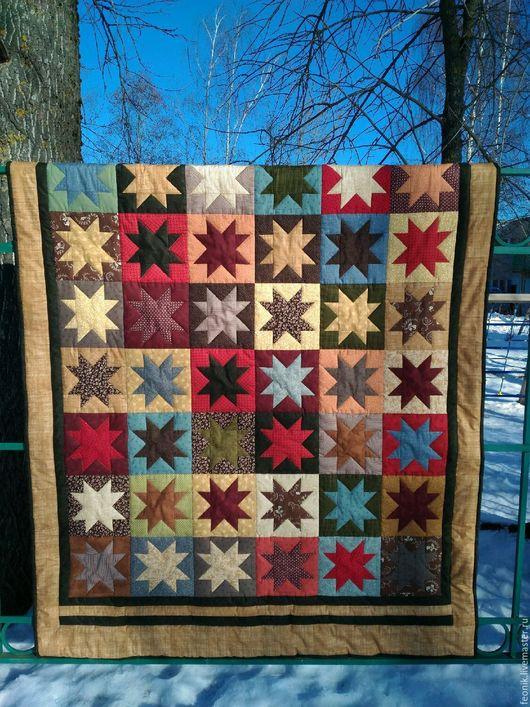 """Текстиль, ковры ручной работы. Ярмарка Мастеров - ручная работа. Купить Лоскутное одеяло """"Брутализм"""". Handmade. Лоскутное одеяло, брутальный"""