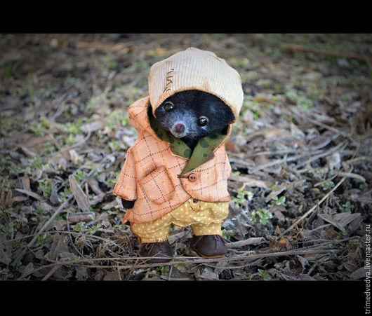 """Мишки Тедди ручной работы. Ярмарка Мастеров - ручная работа. Купить """"Сказки старого леса"""": Роджер. Handmade. Черный, чудо"""