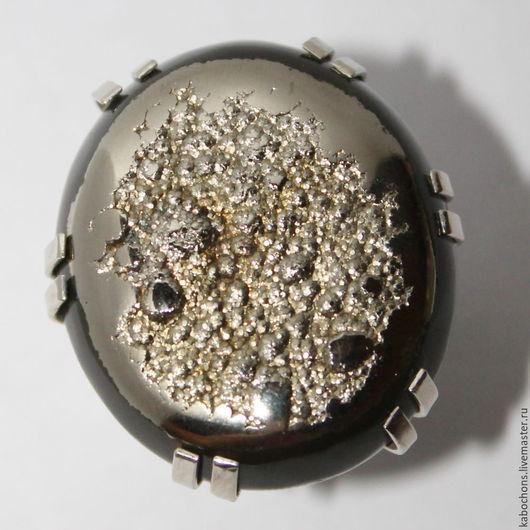 """Кольца ручной работы. Ярмарка Мастеров - ручная работа. Купить Кольцо """"Сквозь миллионы лет"""" Аммонит, Пирит. Handmade."""