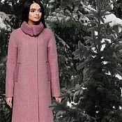 Пальто ручной работы. Ярмарка Мастеров - ручная работа Пальто зимнее шерстяное,с утеплителем шерсть, размер44-54,есть др.цвет. Handmade.