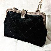 Сумки и аксессуары handmade. Livemaster - original item Evening bag velvet on the clasp