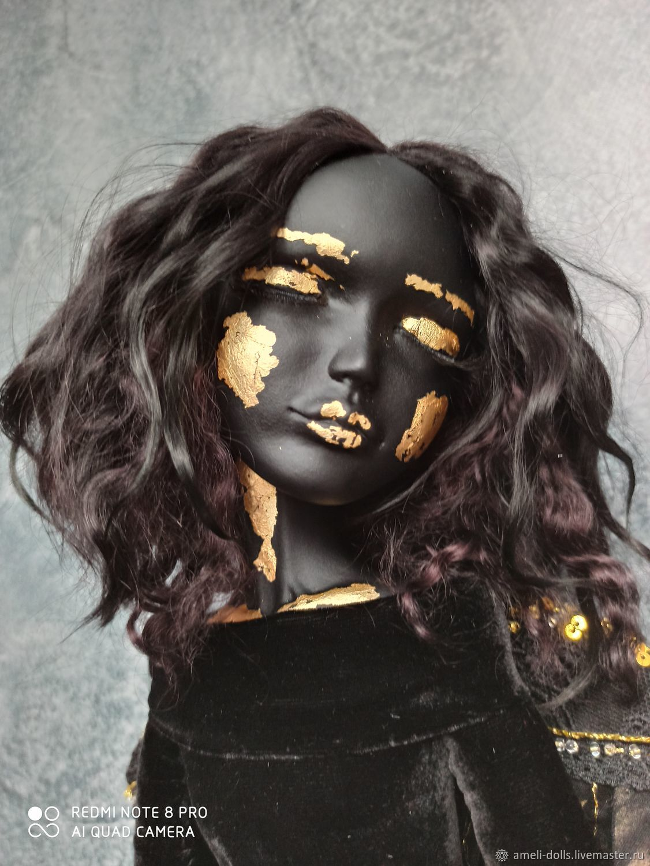 Черный ангел, Будуарная кукла, Томск,  Фото №1