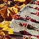 """Текстиль, ковры ручной работы. Ярмарка Мастеров - ручная работа. Купить Бабушкин коврик """"Очень модный"""". Handmade. Бежевый, ковры"""