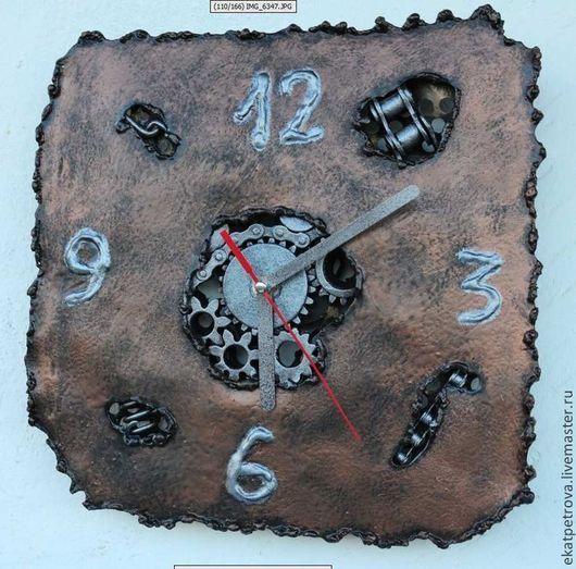 """Часы для дома ручной работы. Ярмарка Мастеров - ручная работа. Купить Часы """"Стимпанк"""". Handmade. Часы, железные часы"""