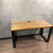 Столы ручной работы. Ярмарка Мастеров - ручная работа Стол компьютерный. Handmade.