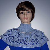 """Аксессуары handmade. Livemaster - original item Knitted Cape """"Magnet"""". Handmade."""