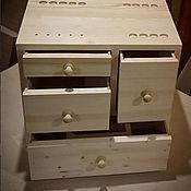 Для дома и интерьера ручной работы. Ярмарка Мастеров - ручная работа Комод деревянный на заказ. Handmade.