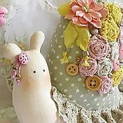Куклы и игрушки ручной работы. Ярмарка Мастеров - ручная работа Тильда Улитка с сердечком Pastorale. Handmade.