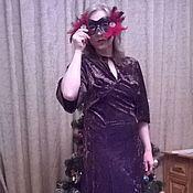 Платья ручной работы. Ярмарка Мастеров - ручная работа Платье бархатное. Handmade.