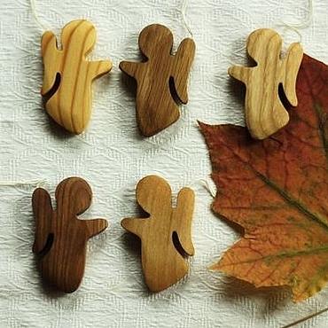 Для дома и интерьера ручной работы. Ярмарка Мастеров - ручная работа Ангел деревянный вальдорфский. Handmade.