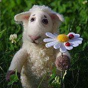 Куклы и игрушки ручной работы. Ярмарка Мастеров - ручная работа Овечка Джульетта. Handmade.