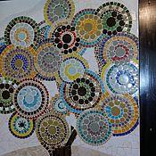 """Картины и панно ручной работы. Ярмарка Мастеров - ручная работа Панно настенное """"Древо жизни"""", мозаика. Handmade."""