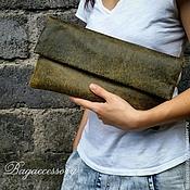 Сумки и аксессуары handmade. Livemaster - original item Clutch bag genuine leather Antique. Handmade.