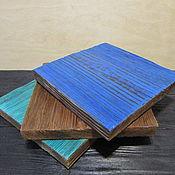 Подставки ручной работы. Ярмарка Мастеров - ручная работа Подставки под горячее, набор подставок. Handmade.