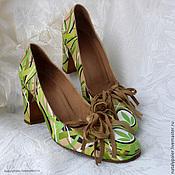 Обувь ручной работы handmade. Livemaster - original item Painting on shoes. Shoes painted