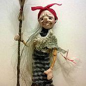 """Куклы и игрушки ручной работы. Ярмарка Мастеров - ручная работа куколка """"Маааленькая Ягулька"""". Handmade."""