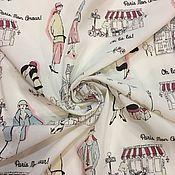 Материалы для творчества ручной работы. Ярмарка Мастеров - ручная работа 127901 ткань вискоза Парижанки. Handmade.