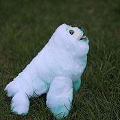 Куклы и игрушки ручной работы. Ярмарка Мастеров - ручная работа Морской котик/гренландский тюлень. Handmade.