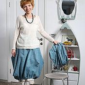 """Одежда ручной работы. Ярмарка Мастеров - ручная работа юбка валяная """"Чирок"""". Handmade."""