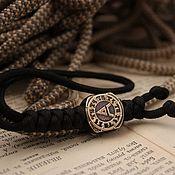 Сувениры и подарки handmade. Livemaster - original item Bead,, Veles,, with a lanyard. Handmade.