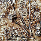 """Картины и панно ручной работы. Ярмарка Мастеров - ручная работа Панно"""" Воспоминание о лете"""". Handmade."""