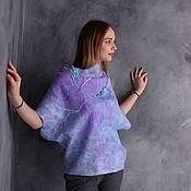 Одежда handmade. Livemaster - original item Blouse felted Mountain lavender. Handmade.