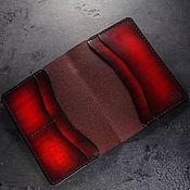 Канцелярские товары handmade. Livemaster - original item Leather cover for documents, avtodokumentov and passport leather. Handmade.