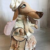 Куклы и игрушки ручной работы. Ярмарка Мастеров - ручная работа Леди Такса. Handmade.